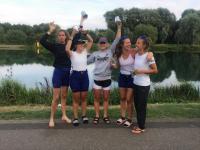 Winning Women's 4+