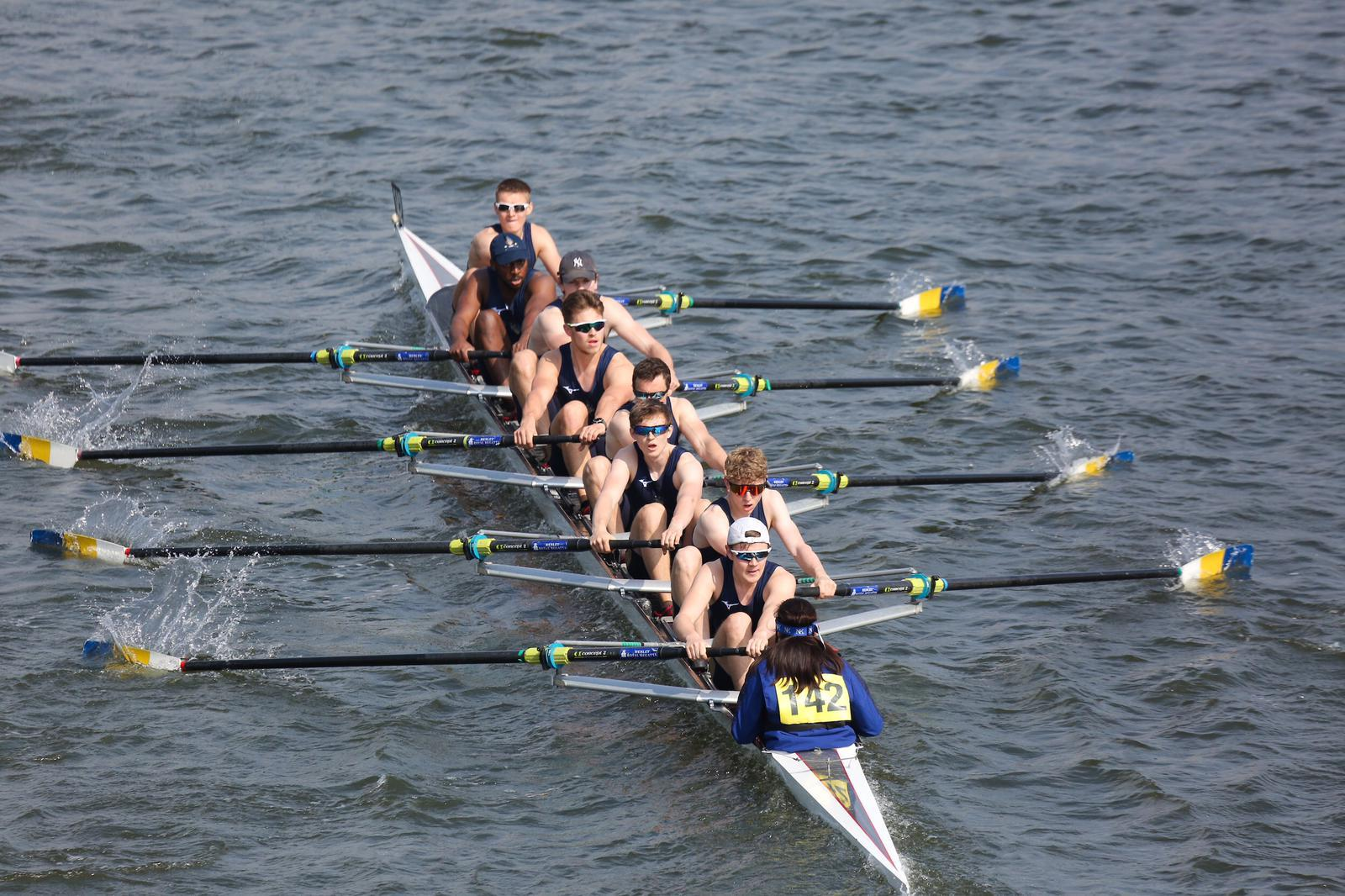 Senior men's 8+ racing HoRR 2019