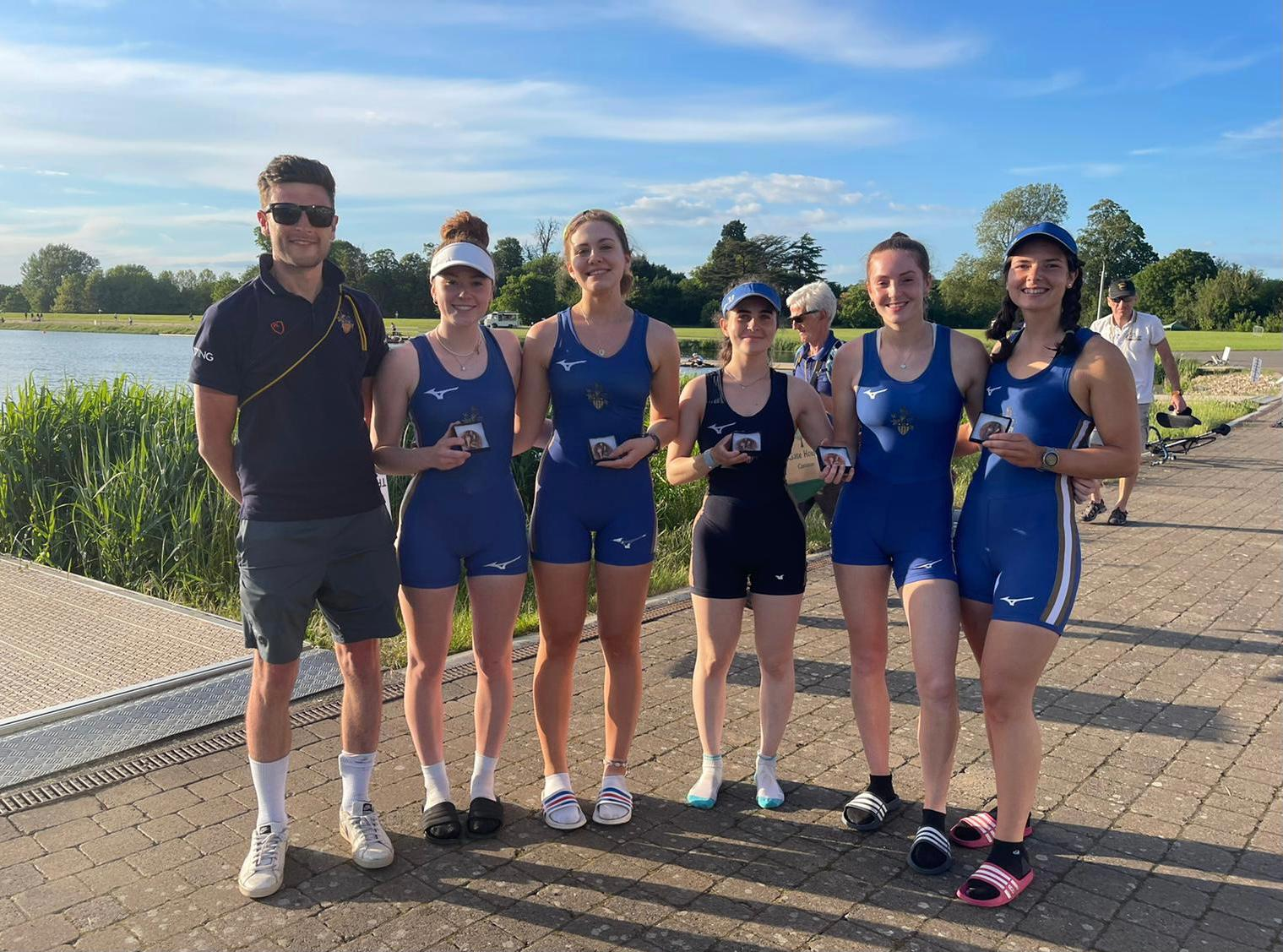 Women's Four Winning MET Regatta