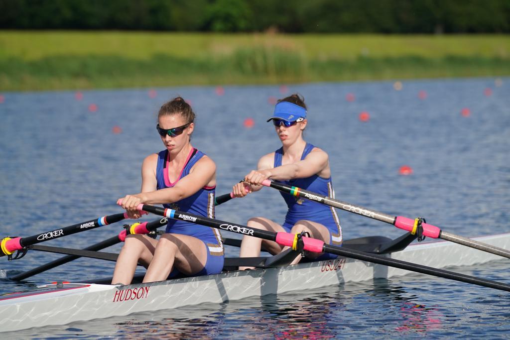 Senior Women's Double at MET