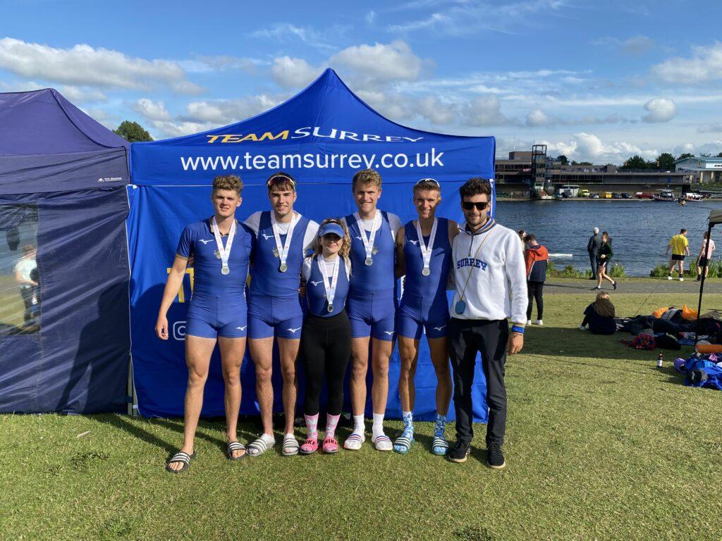 Senior Men's Four Winning Silver at BUCS 2021