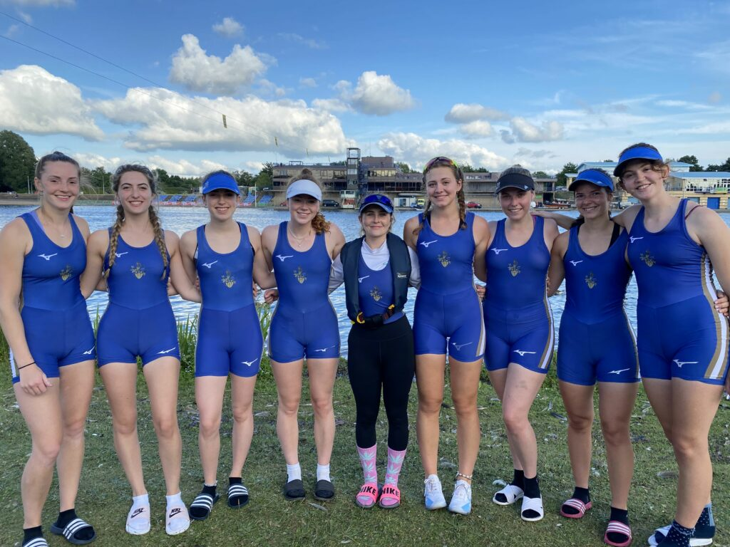 Senior Women's Eight at BUCS 2021
